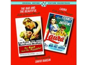 ORIGINAL SOUNDTRACK / DAVID RAKSIN - The Bad And The Beautiful / Laura (CD)