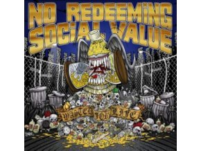 NO REDEEMING SOCIAL VALUE - Wasted For Life (LP)