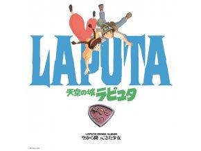 JOE HISAISHI - Sora Kara Futtekita Shoujo Castle In The Sky: Image Album (LP)