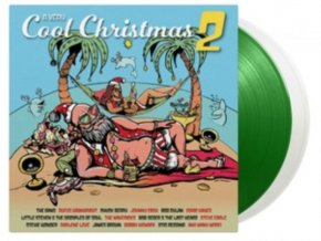 VARIOUS ARTISTS - Very Cool Christmas 2 (White/Green Vinyl) (LP)