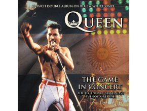 "QUEEN - The Game In Concert (Blue & White Vinyl) (10"" Vinyl)"