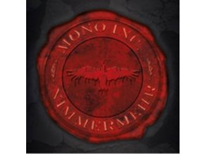 MONO INC - Nimmermehr (Red/Black Streaks Vinyl) (LP)