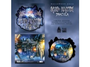 "ICED EARTH - Dracula (Shaped Picture Disc) (12"" Vinyl)"