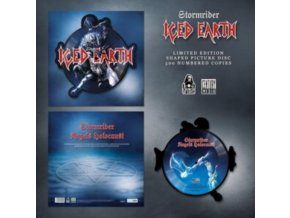 "ICED EARTH - Stormrider (Shaped Picture Disc) (12"" Vinyl)"