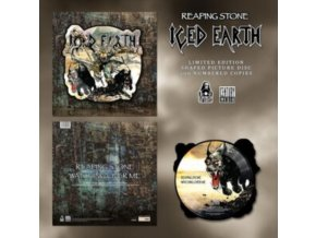 "ICED EARTH - Reaping Stone (Shaped Picture Disc) (12"" Vinyl)"
