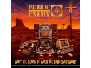 PUBLIC ENEMY - What You Gonna Do When The Grid Goes Down? (LP)