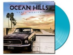 OCEAN HILLS - Santa Monica (Blue Vinyl) (LP)