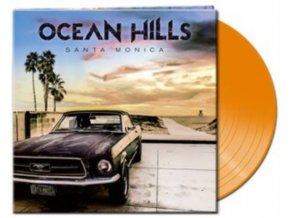 OCEAN HILLS - Santa Monica (Orange Vinyl) (LP)