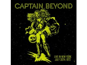 CAPTAIN BEYOND - Live In New York: July 30th 1972 (LP)