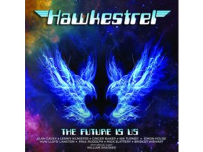 HAWKESTREL - The Future Is Us (Blue Vinyl) (LP)
