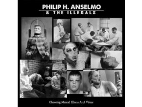 PHILIP H. ANSELMO & THE ILLEGALS - Choosing Mental Illness As A Virtue (Red / Black Marble Vinyl) (LP)