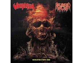 """WHIPLASH / RELEASED ANGER - Split 7 Inch (7"""" Vinyl)"""