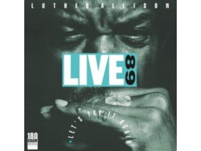 LUTHER ALLISON - Live 89 Lets Try It Again (LP)