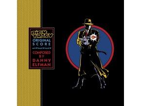 DANNY ELFMAN / ORIGINAL SOUNDTRACK - Dick Tracy - Blue Vinyl (LP)