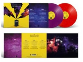 DOCTOR WHO - Doctor Who: The Edge Of Time Original Videogame Soundtrack (Red/Purple Vinyl) (LP)