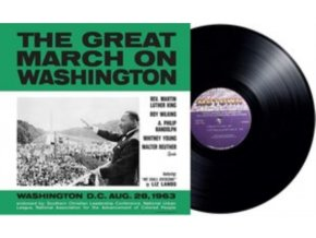 VARIOUS ARTISTS - The Great March On Washington (LP)