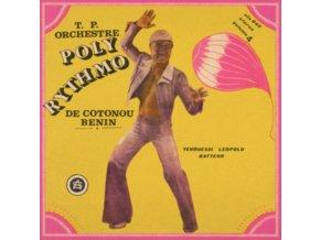 T.P ORCHESTRE POLY RYTHMO DE COTONOU - BENIN - Vol. 4 - Yehouessi Leopold Batteur (LP)