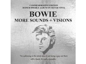 """DAVID BOWIE - More Sounds + Visions (Silver Vinyl) (10"""" Vinyl)"""
