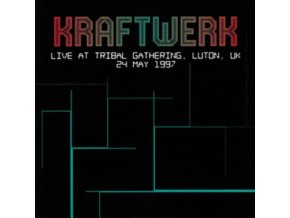 KRAFTWERK - Live At Tribal Gathering. Luton. UK 24 May 1997 (LP)
