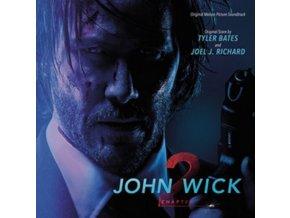 TYLER BATES & JOEL J RICHARD - John Wick - Chapter 2 - OST (CD)