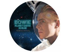DAVID BOWIE - Planet Earth Is Blue (Picture Disc) (LP)