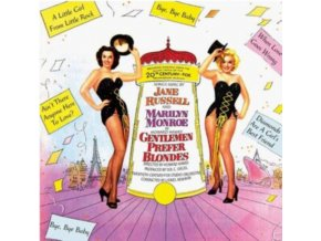 MARILYN MONROE AND JANE RUSSELL - Gentlemen Prefer Blondes - Original Soundtrack (CD)