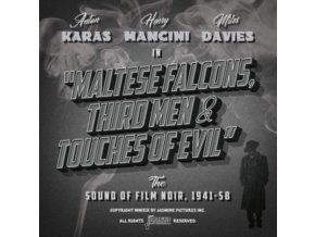 VARIOUS ARTISTS - Maltese Falcons. Third Men & Touches Of Evil - The Sound Of Film Noir 1941-58 (CD)
