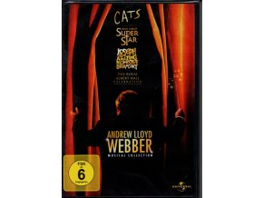 andrew lloyd webber musical collection 4 dvd