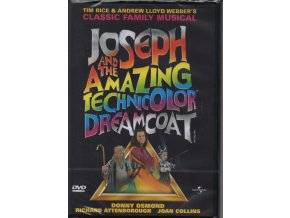 Josef a jeho skvostný plášť - Joseph and the Amazing Technicolor Dreamcoat (DVD)