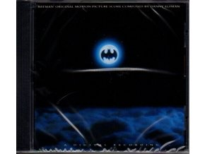 batman score cd danny elfman