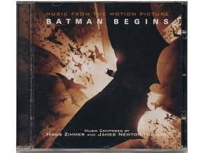 Batman začíná (soundtrack - CD) Batman Begins