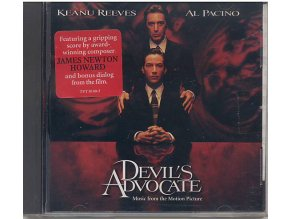 Ďáblův advokát (soundtrack - CD) The Devils Advocate