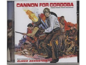 Děla pro Cordobu (soundtrack - CD) Cannon for Cordoba