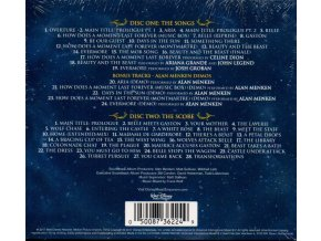 beauty and the beast deluxe soundtrack 2 cd alan menken
