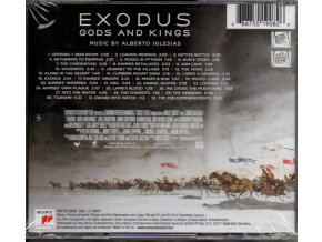 EXODUS: Bohové a králové (soundtrack) Exodus: Gods and Kings