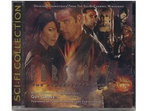 Farscape: Mírová operace (soundtrack - CD) Farscape: The Peacekeeper Wars