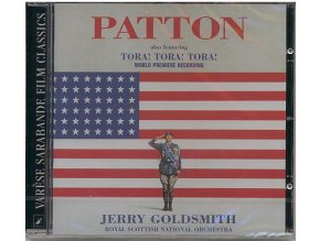 Generál Patton (soundtrack - CD) Patton / Tora! Tora! Tora!