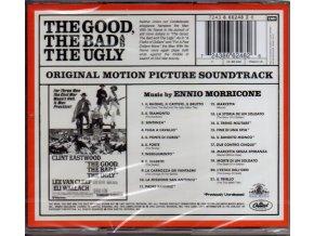 Hodný, zlý a ošklivý (soundtrack - CD) The Good, the Bad and the Ugly