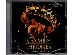 game of thrones season 2 soundtrack cd ramin djawadi