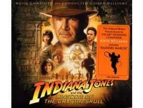 Indiana Jones a Království křišťálové lebky (soundtrack - CD) Indiana Jones and the Kingdom of the Crystal Skull