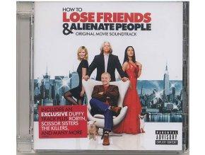 Jak se zbavit přátel a zůstat úplně sám (soundtrack - CD) How to Lose Friends and Alienate People