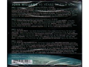 John Williams: 40 Years of Film Music (4 CD)