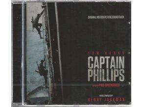 Kapitán Phillips (soundtrack - CD) Captain Phillips
