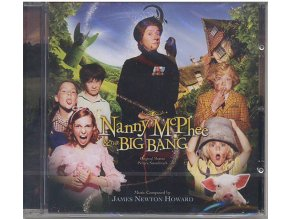 Kouzelná chůva a Velký třesk (soundtrack - CD) Nanny McPhee and the Big Bang