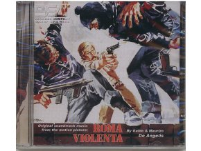 Krutý Řím (soundtrack - CD) Roma Violenta - Violent City