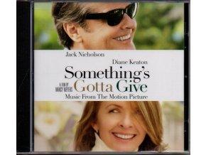 somethings gotta give soundtrack cd