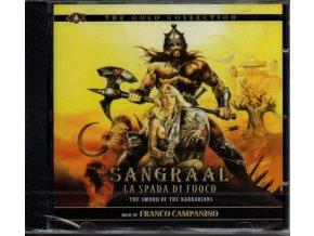 Meč barbarů (soundtrack) Sangraal, la spada di fuoco