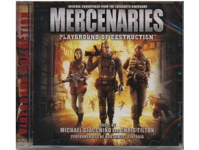 Mercenaries: Playground of Destruction (soundtrack - CD)