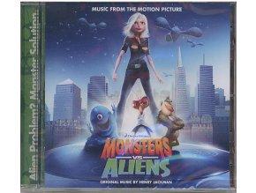 Monstra vs. Vetřelci (soundtrack - CD) Monsters vs. Aliens