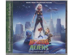 Monstra vs. Vetřelci (soundtrack - CD) Monsters vs. Aliens